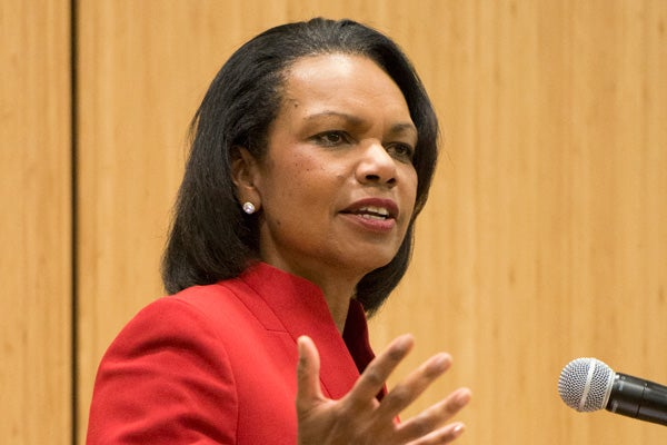 Condoleezza Rice portrait