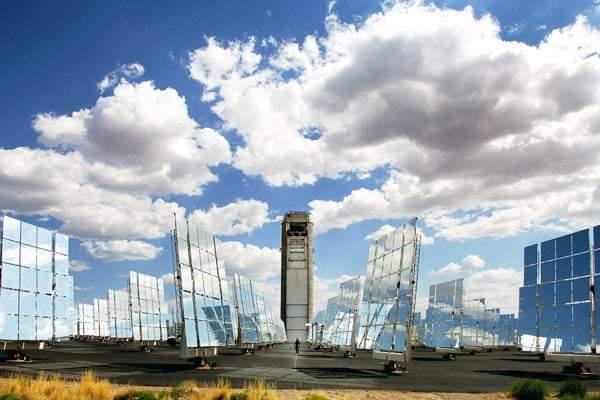 Solar contentrator at Sandia National Labs