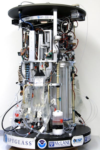 Environmental Sample Processor robot