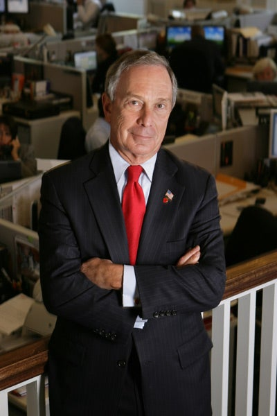 Michael Bloomberg portrait