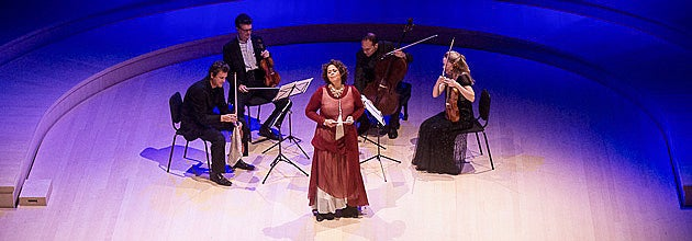 Actor, author and former Stanford faculty member Anna Deavere Smith introduces the St. Lawrence String Quartet on Friday.