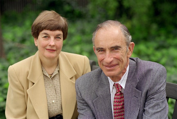 Anne and Paul Ehrlich portrait
