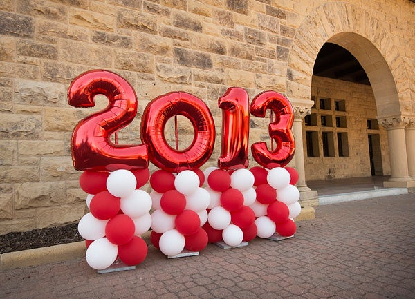 2013 Commencement balloons
