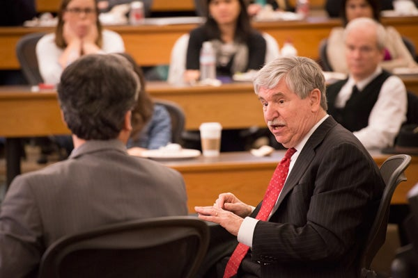 John Limbert at the Stanford Law School