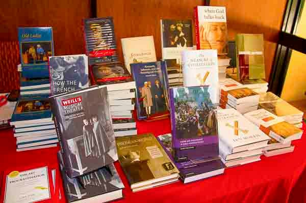 Books on display at A Company of Authors