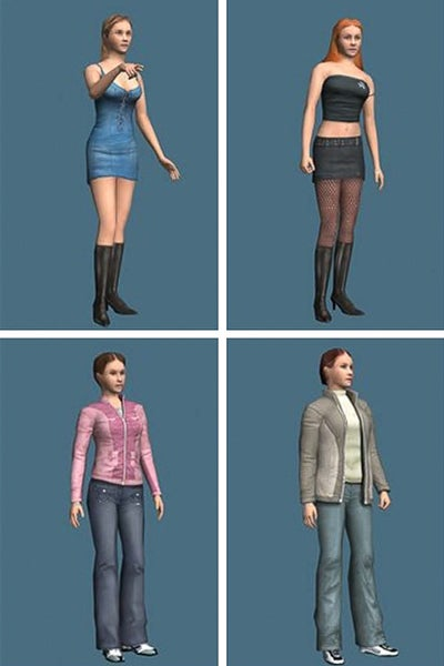 Female avatars