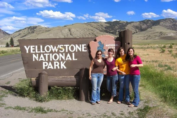 Yellowstone vacation