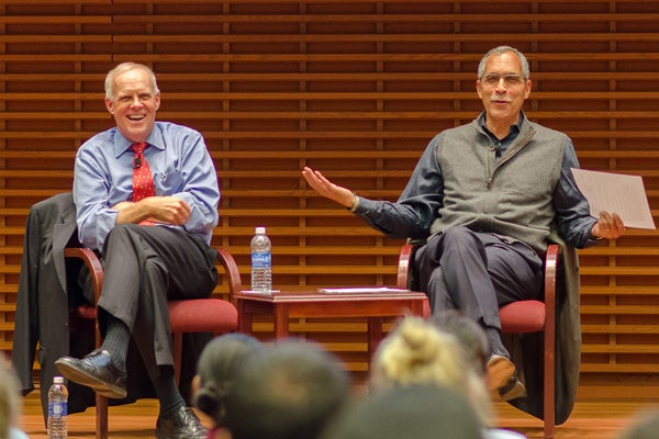 John Hennessy and Claude Steele