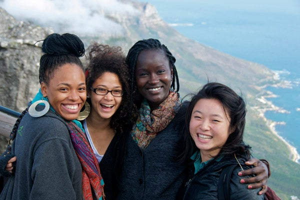 Students in Cape Town