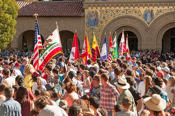 2013 Move-In Day at Stanford