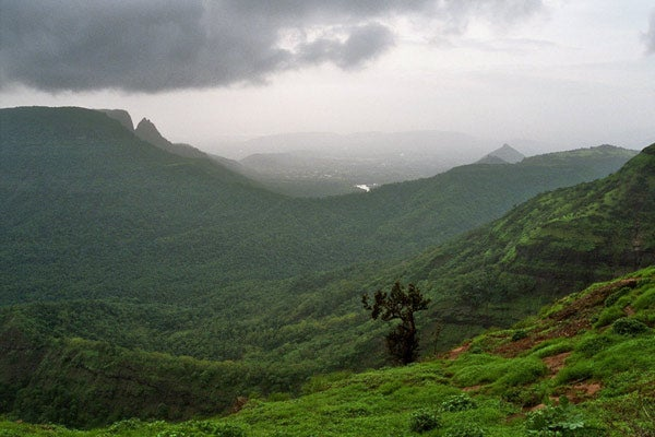 Rainclouds in the Western Ghats, India