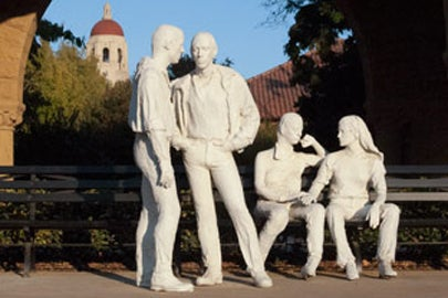George Segal's 'Gay Liberation' sculpture at Stanford / Linda A. Cicero