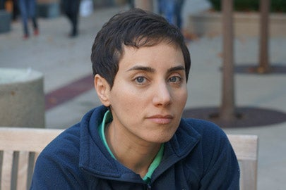 Maryam Mirzakhani portrait / Photo: Courtesy of Maryam Mirzakhani