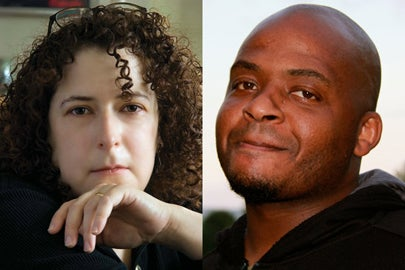 left: Margalit Fox/Ivan Farkas; right: Kiese Laymon/Emma Redden