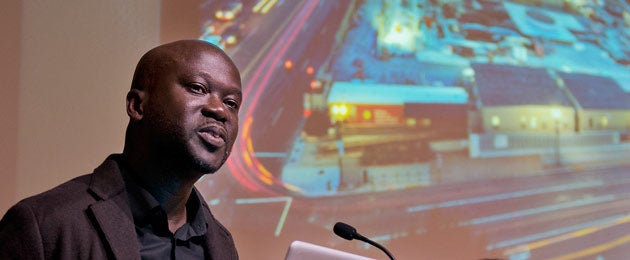Architect David Adjaye at Stanford lecture