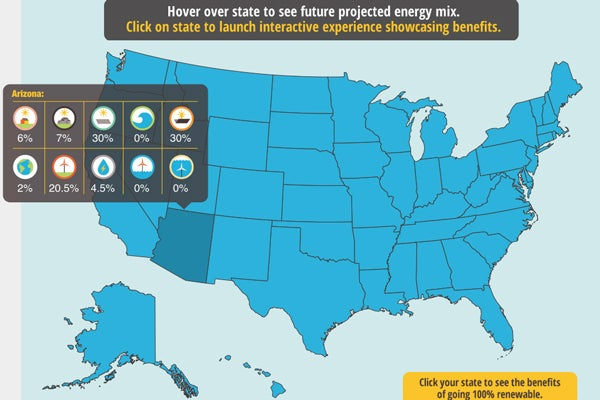 Stanford Scientist Unveils State Plan To Transform US To - Us energy map