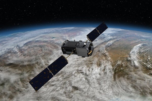 Orbiting Carbon Observatory 2 satellite
