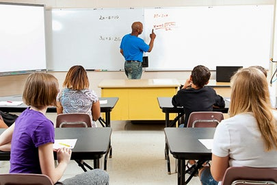 students in math class / Lisa F. Young/Shutterstock