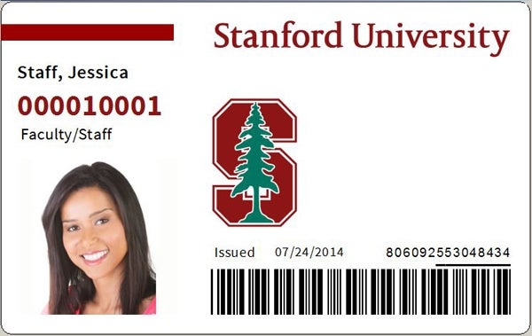 staff and faculty ID