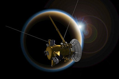 Cassini spacecraft / NASA/JPL-Caltech