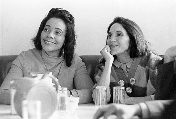 Coretta Scott King, Dolores Huerta