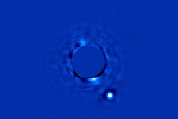 Planet Beta Pictoris b