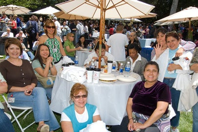 Employees attend Multicultural Springfest honoring university employees