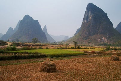 wheat fields in Guangxi, China / Hector Garcia/Creative Commons