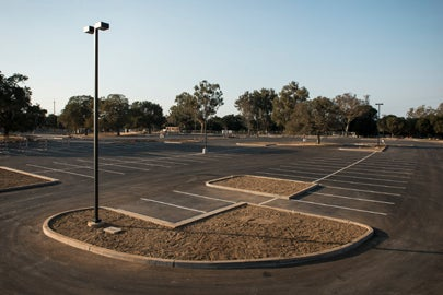 New Searsville parking lot / L.A. Cicero