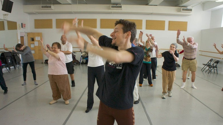 Dancers with Parkinson's disease