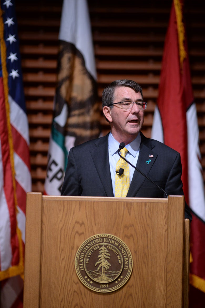 Secretary of Defense Ashton Carter gives speech on cyber strategy