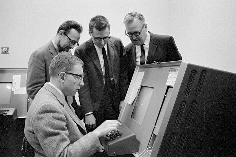 computer science department, 1965