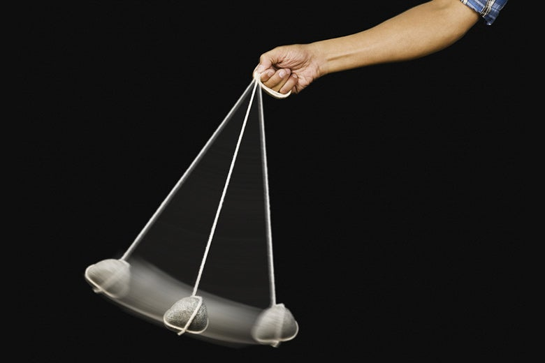 Swinging pendulum
