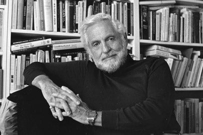 Carl Djerassi portrait / Photo: Chuck Painter