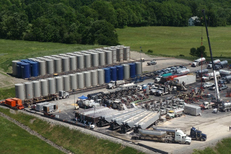 Study: Fracking Didn't Mess With Drinking Water