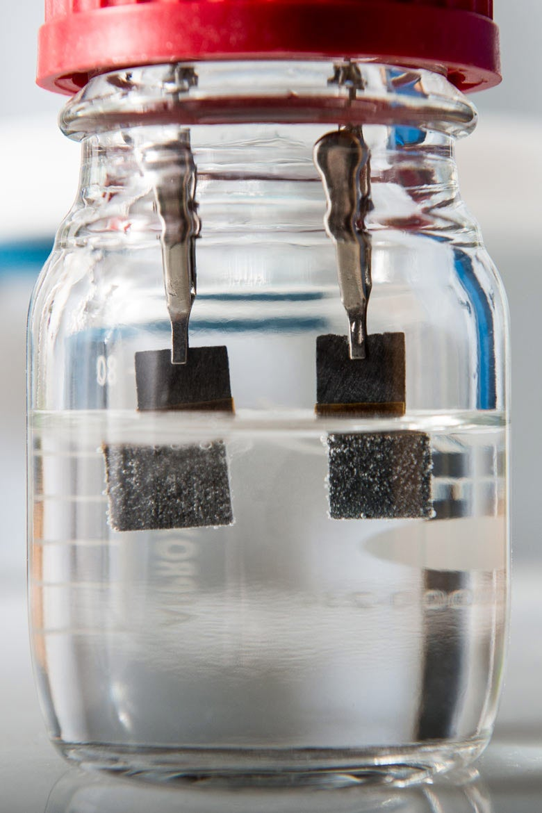 Single Catalyst Water Splitter From Stanford Produces