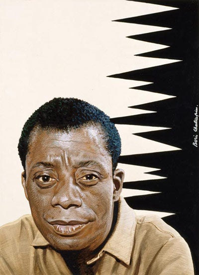 Image result for james baldwin portrait