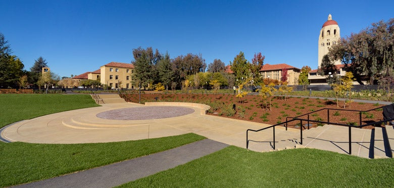 view of Meyer Green from near stairs into the bowl