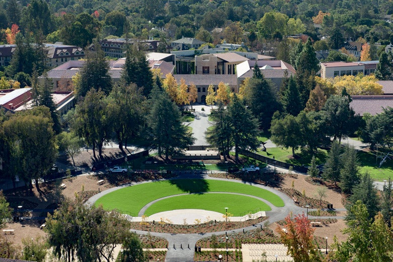 Meyer Green as viewed from above