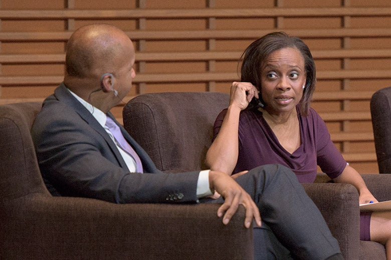 Bryan Stevenson and Jennifer Eberhardt