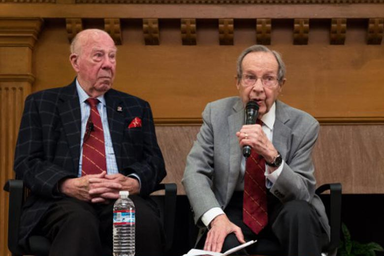 George Shultz and William Perry