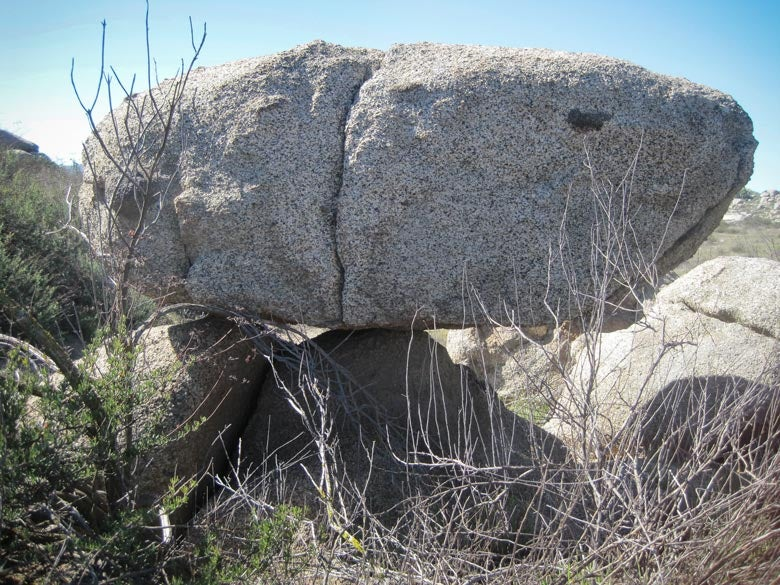 balanced rocks that seismologists use to gauge an earthquake's shaking